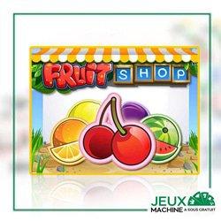 presentation fruit shop